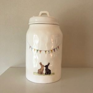 Happy Easter Canister by Rae Dunn
